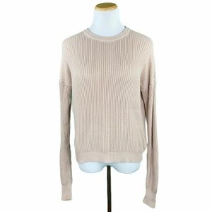 Brandy Melville Dolman Long Sleeve Knit Sweater